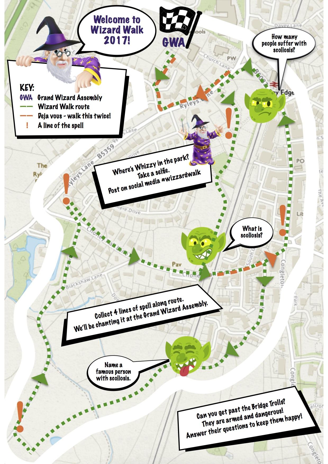 Wizard Walk Activity Map