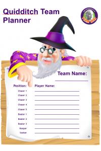 Quidditch Team Planner